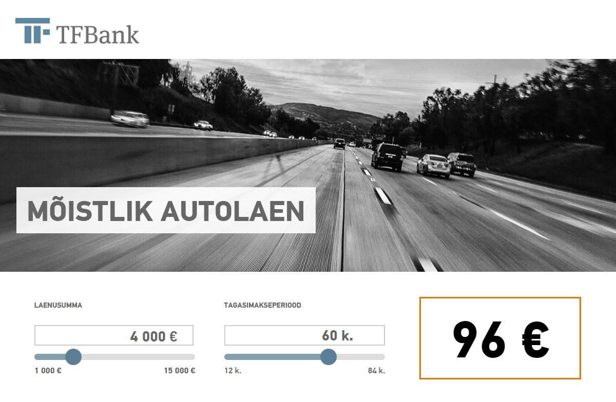 TFBank autolaen